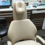 dental chair reupholstery